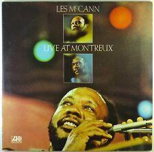 """2x 12"""" LP - Les McCann - Live At Montreux - K7052 - cleaned"""