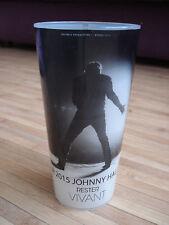 JOHNNY  HALLYDAY  Gobelet en Plastique