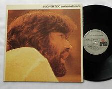 WAGNER TISO Ao vivo na Europa BRAZIL Orig LP ARIOLA (1983) latin jazz EX+/NMINT