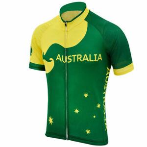 Australia  Cycling Jersey mens Cycling Short Sleeve Jersey