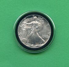 1987 ~ UNITED STATES SILVER EAGLE ~ 1oz. .999 SILVER ~ COMES IN AIRTITE AS SHOWN