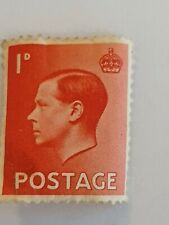 Abdication, 1936 Edward Viii (8th) Inverted Watermark 1d Red Excellent unused