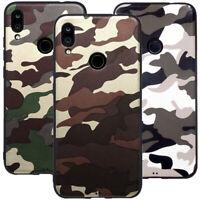 Custodia cover TPU militare mimetica camouflage esercito per Xiaomi Redmi Note 7