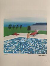 David Hockney - LITHOGRAPHIE Signée Et Numerotée - 38x28 Cm - Rare