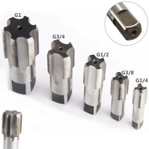 G1/8-3/4 NPT 1 Steel Thread Cutting Screw Taper Pipe Tap For Tapping Machines