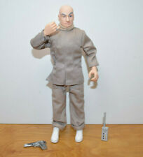 """Austin Powers Dr. Evil Doll Action Figure 9"""" Tall 1998 Trendmasters"""
