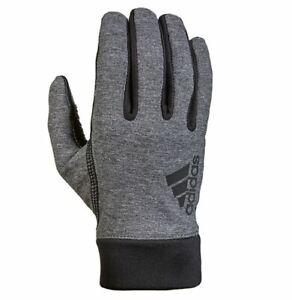 NEW Men's adidas Sevorn Texting Gloves Grey/Black