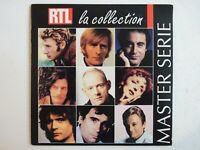 MASTER SERIE : RTL LA COLLECTION (LA MUSIQUE QUE J'AIME) ♦ CD Album Promo ♦