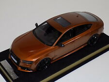 1/18 MotorHelix Audi RS7  in Zanzibar Brown with Black Wheels