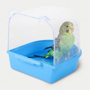 Bird Bathtub Durable Durable Hanging Plastic Utility Bird Bathtub for Canary