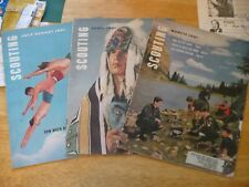 SCOUTING MAGS -3 OF THEM FROM 1961- BOY SCOUT PUBLICATIONS -WELL READ - LAY FLAT