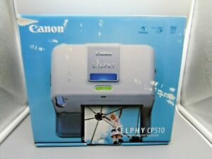 Unused Canon Digital Compact Printer CP510 Selphy with Paper and attachements