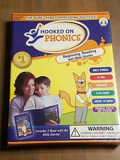 Hooked on Phonics: Beginning Reading with Bible Stories-Ages 4-6