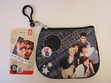 NWT~2013 1D One Direction Coin Zipper Purse with I.D. Slot On Back~FREE SHIPPING