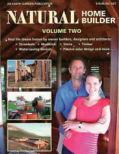Natural Home Builder: Real Life Dream Homes NEW vol 2 2007 Earth Garden Instock