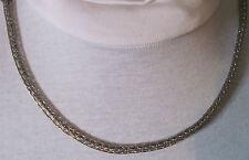 "Titanium Viking Knit Necklace Chain Rope 30"" Artisan"