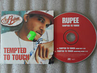 CD-RUPEE-TEMPTED TO TOUCH-BOOMTUNES REMIX/RADIO-1 ON 1-(CD SINGLE)2004-2TRACK