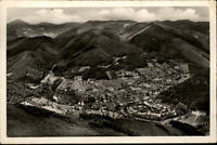 Wolfach Schwarzwald alte Postkarte 1958 gelaufen Panorama Blick vom Spitzfelsen