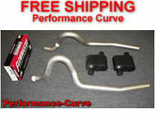 86-04 Ford Mustang GT Exhaust System w/ Flowmaster Super 10 Mufflers