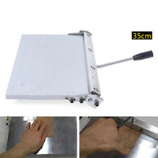New listing 350mm Manual Leather Folder Leather Linear Edge Folding Machine For Pu leather