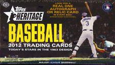 2012 Topps Heritage Baseball Lot Pick 25 - Finish Your Set!  (1-425)