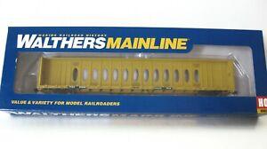 Walthers Ho 72' Centerbeam Flatcar#910-4832 TTX/TTZX  Ltd Edition NIB