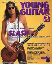 Young Guitar Magazine March 2000 Japan Slash Metallica Yngwie Malmsteen