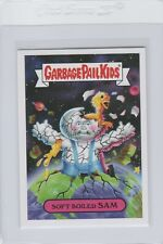 Garbage Pail Kids Soft Boiled Sam 1b GPK 2017 Adam Geddon trading card sticker