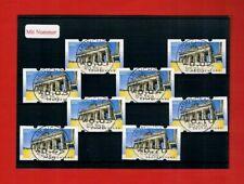 TOR ATM-Rarität Restwertsatz 5 1-70 MIT NUMMER ERSTTAGS-Vollstempel 01.01.16!