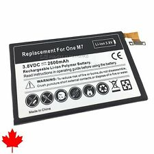 NEW HTC One M7 Replacement Battery BN07100 2600mAh