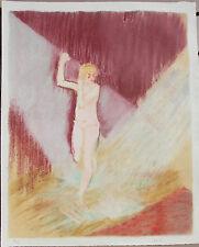 VERTES Marcel - Lithographie Mourlot La Vagabonde Colette 1928 Arts et Métiers.
