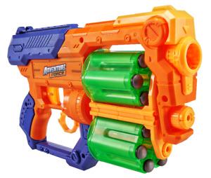 Adventure Force Hyperspin Rotating Drum Blaster 12-Foam Dart Kids Toys - New
