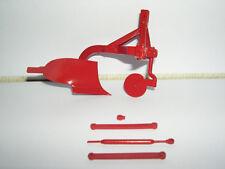 Promod Collectors Model Farm Implement Plough (MF Red)