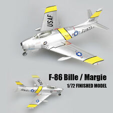 F-86 Bille / Margie1/72 aircraft finished plane Easy model non diecast