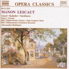 Puccini Manon Lescaut (Naxos, 1992).. [2 CD]