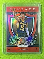 JA MORANT PRIZM ROOKIE CARD JERSEY #12 MS RC GRIZZLIES 2019 Prizm CRUSADE RED SP