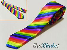 CORBATA MULTICOLOR ARCOIRIS ORGULLO GAY RAINBOW TIE GAY PRIDE