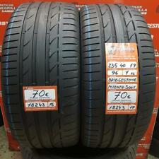 2 x 235 40 R19 96Y XL 5mm+5.1mm DOT16/17 Bridgestone Potenza S001 RO1 Ref. 18243