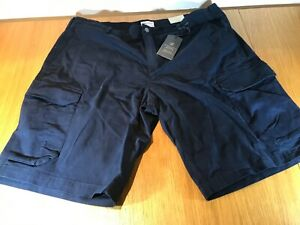 """TIMBERLAND CARGO SHORT SIZE 42"""" RELAXED FIT IN NAVY BNWT TIMBERLAND MOTIF"""