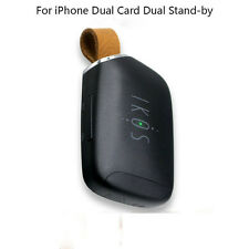 Dual Sim Bluetooth Adapter Dual Standby for iPhone with two Active SIM Cards