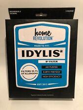 1 Hepa Replacement Air Purifier B Filters For Idylis Iap-10-125 & Iap-10-150