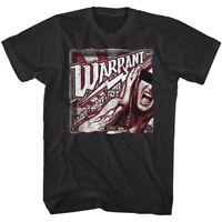 Warrant Louder Harder Faster Men's T Shirt Rock Band Album Cover Art Tour Merch