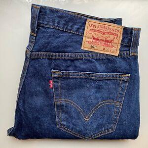 *Vintage* LEVI's Original Jeans Hose Denim 501 W36 L32 dunkelblau TOP Klassiker!