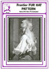 Eagle's View Sewing Pattern Early 1800s Frontier Fur Hat - Indians, Mountain Men