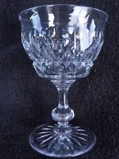 Tudor Crystal Made In England Raleigh Champagne Tall Sherbet