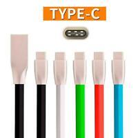 "1m USB-C Typ C 3.1 3D Zink ""Diamond Shape"" USB Ladekabel/Datenkabel Samsung S8"