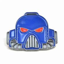 Genuine Warhammer Space Marine Helmet Pin Badge Gift Games Workshop Gaming