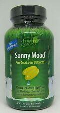 Irwin Naturals Sunny Mood - Stress Support  Mood Boost 75 Softgels  2020/2021