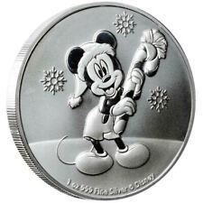 Mickey Mouse Disney™ Niue Christmas Edition 2020 1 oz 999 Silbermünze Nzm