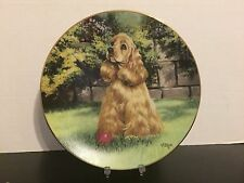 Hamilton Collection - Let's Play Ball - The Man's Best Friend Plate Collection